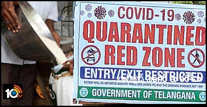 coronavirus red zone in the hyderabad ranga reddy
