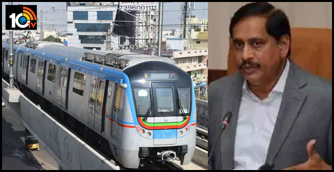 dont worry passengers about corona , metro rail md  nvs reddy