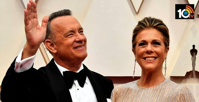 Hollywood star Tom Hanks and his wife Rita Wilson have a corona virus