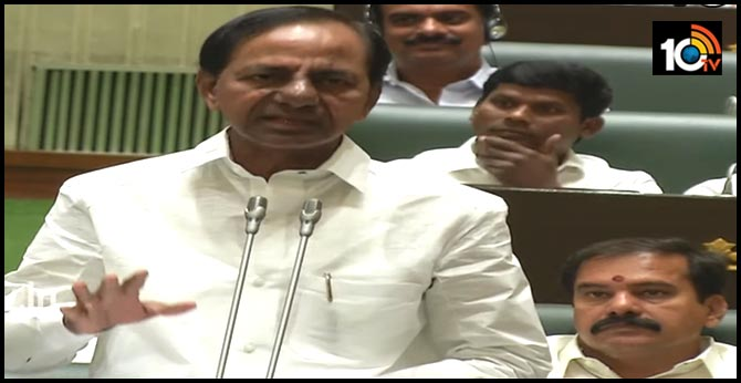 non Caste and religious mass graves says CM KCR