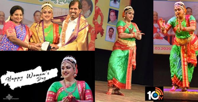 Actress, Mla Roja Selvamani Performing Dance for a Foundation