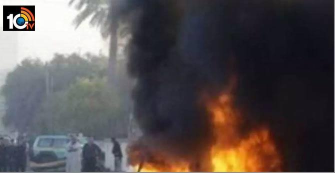 Blast near Shivarampalli Railway Station in Rajendranagar