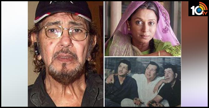 Veteran actor Imtiaz Khan, brother of Amjad Khan passes away
