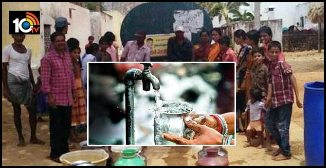 In HYDERABAD GOVERNMENT summer plans to set water problems in summer