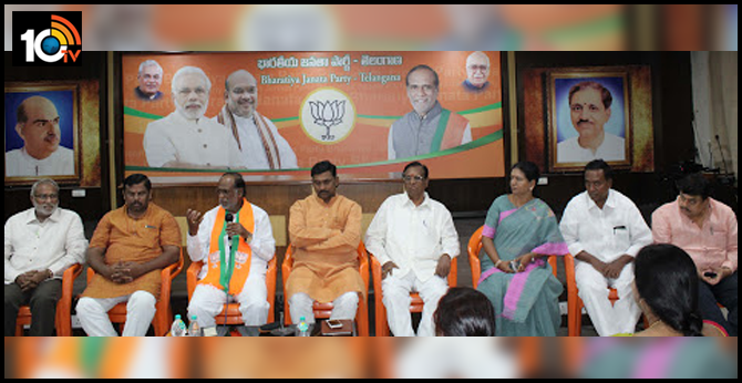 who is the next bjp state president in telangana