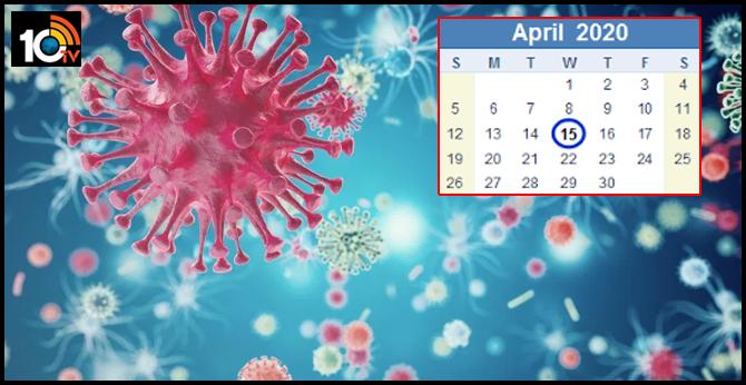 will coronavirus spread severely in april in india