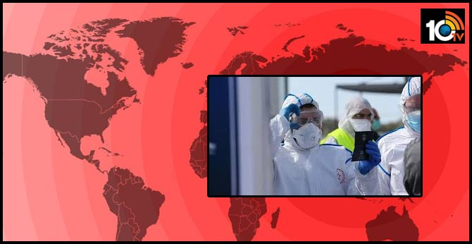 world wide coronavirus death toll increase