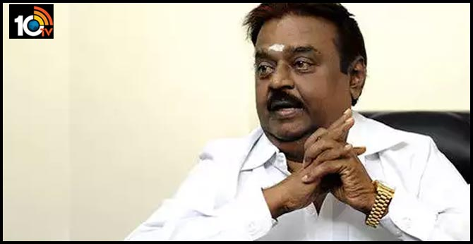 Actor Vijayakanth offers land to bury Covid-19 victims