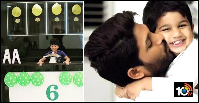 Allu Arjun's son Ayaan turns 6 - Bunny Sweet Wishes