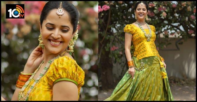Anasuya Bharadwaj in Traditional Outfit