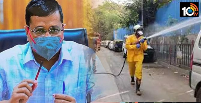 Covid-19: Delhi govt to sanitise city's red, orange zones from Monday, says Arvind Kejriwal