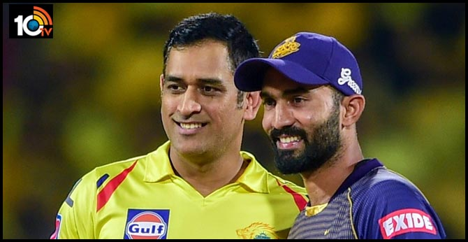 Dinesh Karthik was surprised when CSK picked MS Dhoni for inaugural IPL