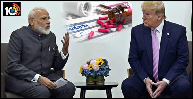 Donald Trump Requests PM Modi To Release Anti-Malarial Drug To Fight COVID-19