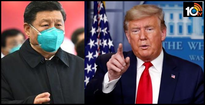 Donald Trump casts doubt on Chinese coronavirus figures