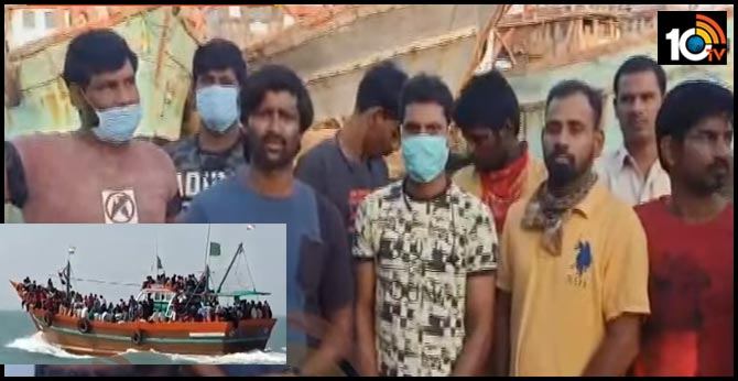 Lockdown : Telugu fishermen trapped in Gujarat