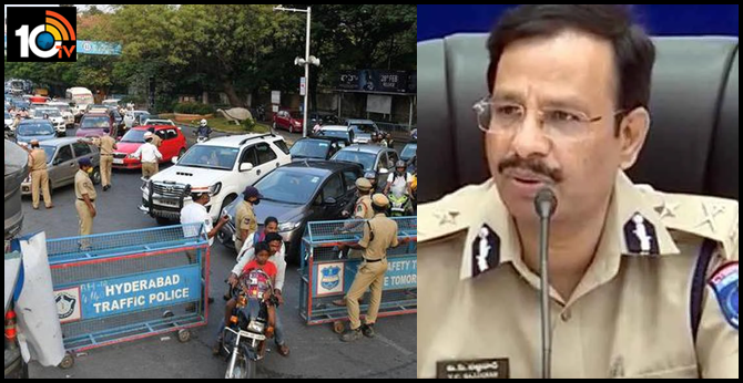 Lockdown further tightened, Sieged vehicles are not given now : cp sajjanar