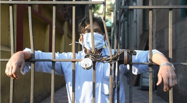 district officials literally locked them down in madhya pradesh