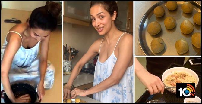Malaika Arora Preparing Laddu's Lockdown days and Talking About her Divorce