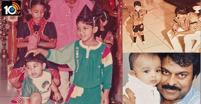 Megastar Chiranjeevi Birthday Wishes to Allu Arjun, Akhil and Akira