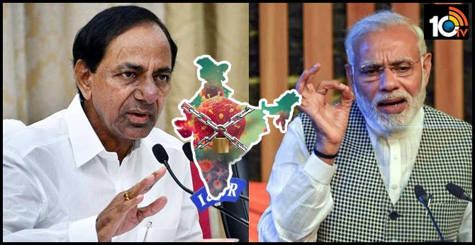 Centre Considering telangana States, KCR' Request To Extend Lockdown: Modi
