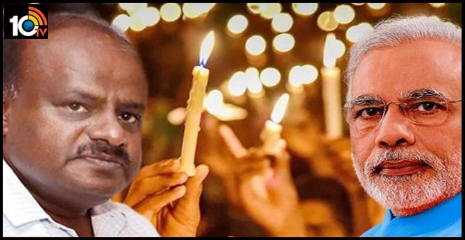 PM Modi's appeal on lighting lamps is BJP's hidden agenda, says H.D. Kumaraswamy