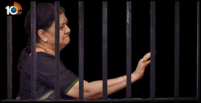 Parole is a possibility chinnamma Sasikala stays in jail