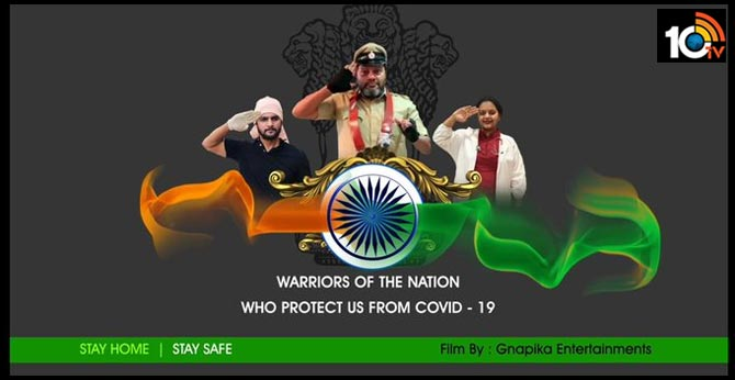 Salute to the Warriors of Covid19.. Sai Kumar Special awareness short film