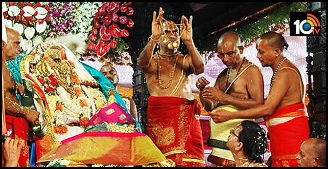 coronavirus Seetharama kalyanam Bhadradri Do not come to devotees Watch live
