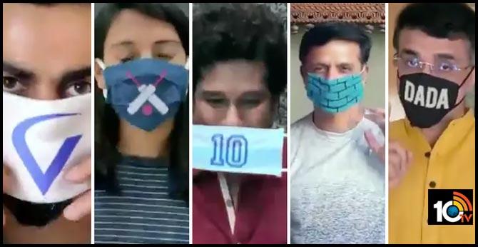 BCCI creates 'Team Mask Force'; special message from Virat Kohli, Sourav Ganguly, Sachin Tendulkar