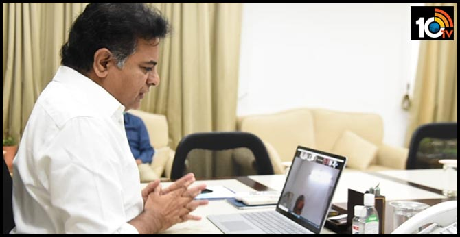 TS IT minister ktr letter to industry and it companies dont remove employees