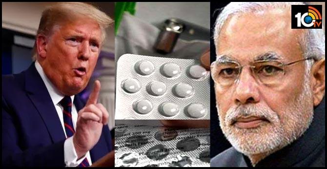 Trump seeks Modi's help to release Hydroxychloroquine