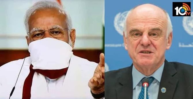 WHO Special Envoy bats for PM Modi's 'jaan bhi, jahaan bhi' model of lockdown extension