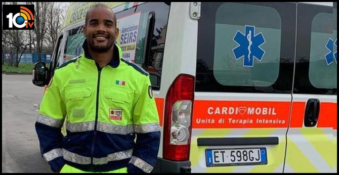 What A Legend! Italian Rugby Star Volunteers As An Ambulance Driver During Coronavirus Crisis