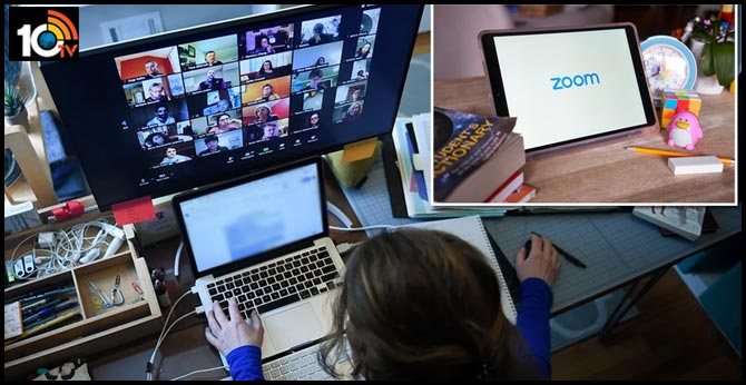 Zoom after hackers post obscene images on screens