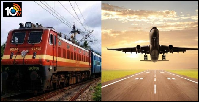 all trains and domestic and international flights suspended till 3rd may india