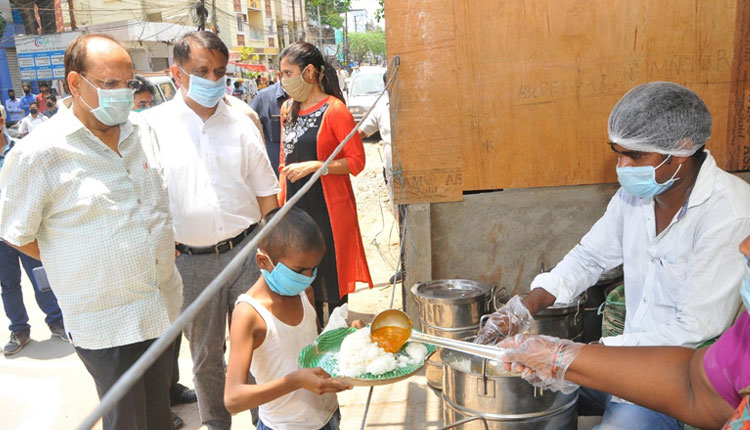 Another 50 Annapurna centers to be inaugurated in Greater Hyderabad for Hunger people