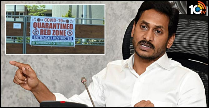 ap cm ys jagan high level review on covid 19 prevention