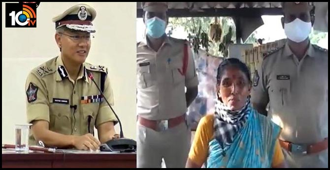 ap dgp gautam sawang saluted women who serve cold drinks police