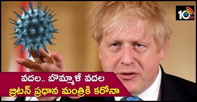 coronavirus Virus for Britain's Prime Minister