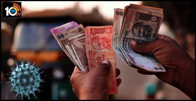 coronavirus through currency notes In andhrapradesh