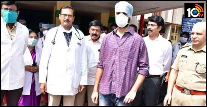 east Godavari Young man's victory over Corona Virus