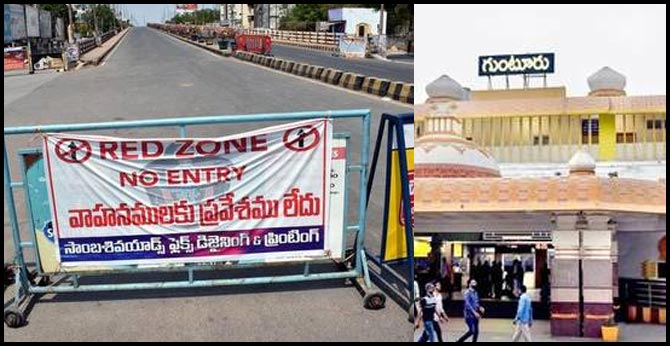 curfew in guntur on sunday in wake of increasing covid 19 cases