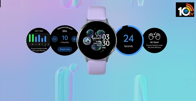 Hand Wash app for Samsung Galaxy smartwatches provides reminders, timer