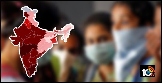 india coronavirus: virus effect in 5 states