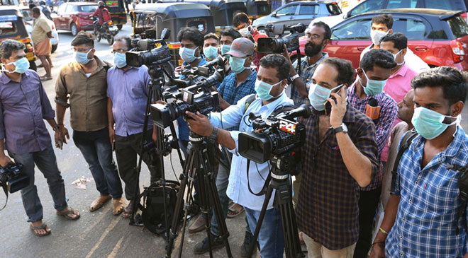 Journalists testing positive for #COVID19 is very unfortunate news : Lav Agrawal, Joint Secretary, Union Health Ministry