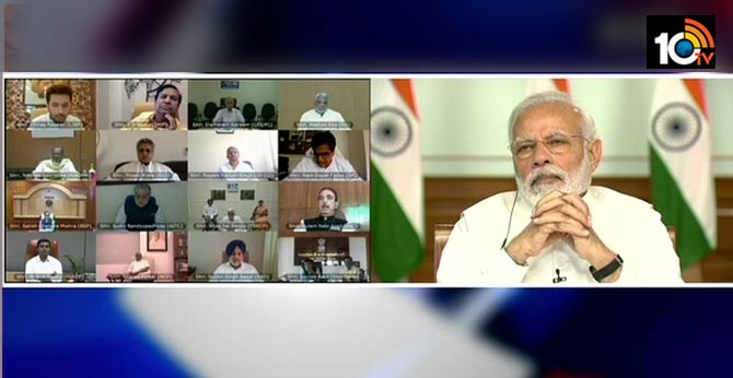 Coronavirus Crisis: PM Modi talks to all party leaders via video call