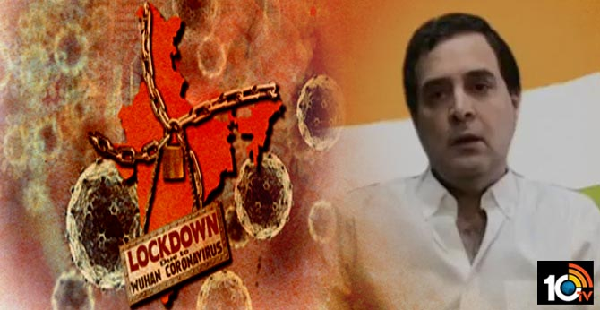 Lockdown not only solution, need to do more coronavirus testing: Rahul Gandhi