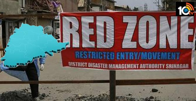 telangana government unsatisfy on modi about redzone areas