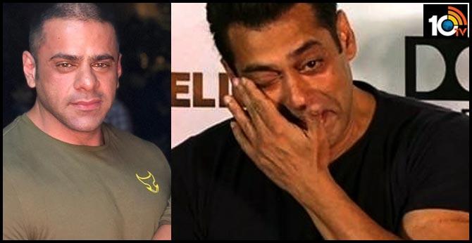 salman khan is upset as he is unableto attend nephew abdullah khan funeral