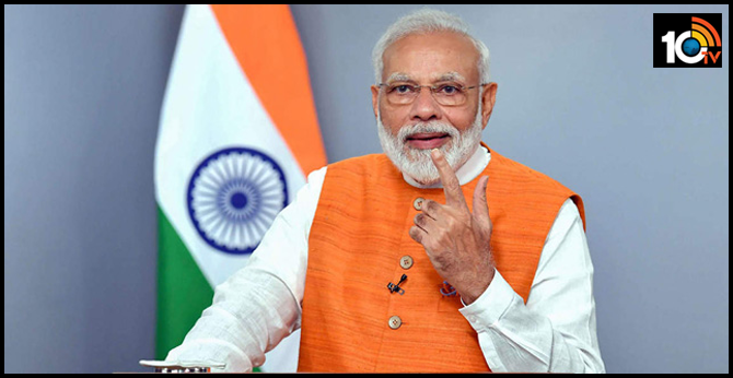 PM Modi releases audio message to nation on first anniversary of second term in office